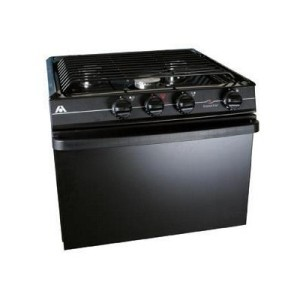 Atwood Wedgewood 21 inch 3 burner LP stove with oven
