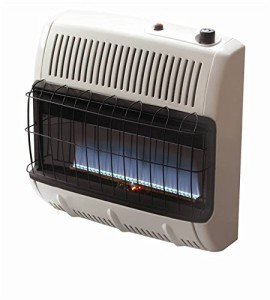 Mr. Heater Corporation Vent Free Flame Propane Heater, 30k BTU, Blue
