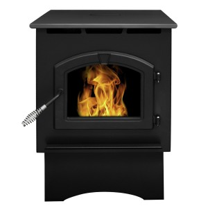 Pleasant Hearth Medium 35000 BTU's Pellet Stove with 40-Pound Hopper