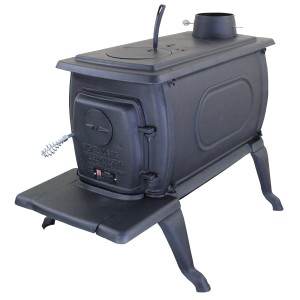Vogelzang BX42E Boxwood Deluxe Cast Iron Wood-Burning Stove